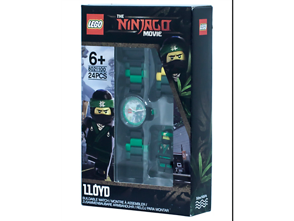 THE LEGO® NINJAGO® MOVIE™ Lloyd Minifigure Link Watch - 5005370 ...