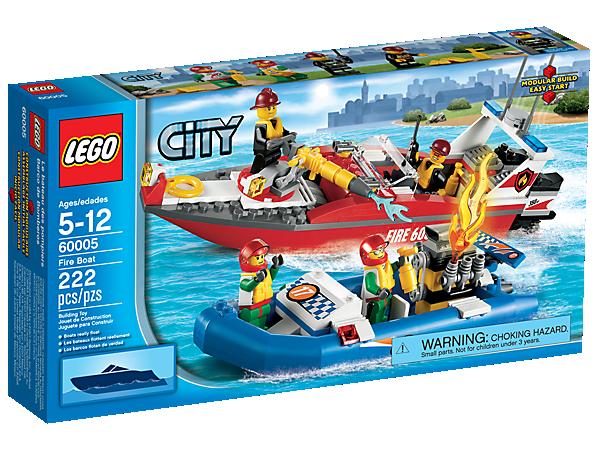 Fire Boat 60005 City Lego Shop