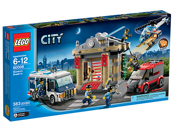 Museum Break-in - 60008 | City | LEGO Shop
