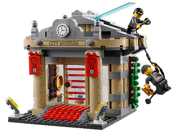 LEGO City: Museum Break-in (60008) Toys   TheHut.com