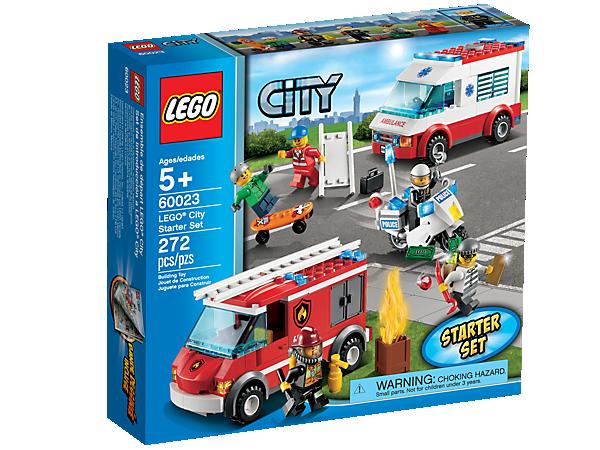 Lego City Starter Set 60023 City Lego Shop