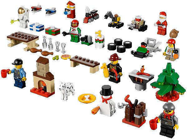 LEGO® City Advent Calendar - 60024   City   LEGO Shop