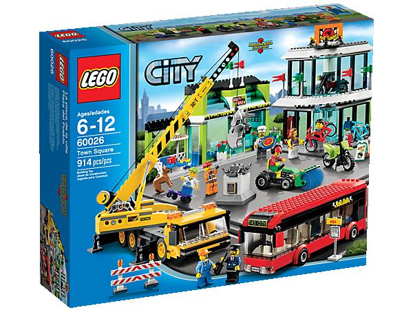 Town Square 60026 City Lego Shop