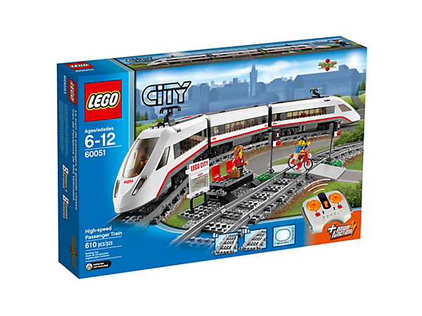 High-speed Passenger Train - 60051 | City | LEGO Shop