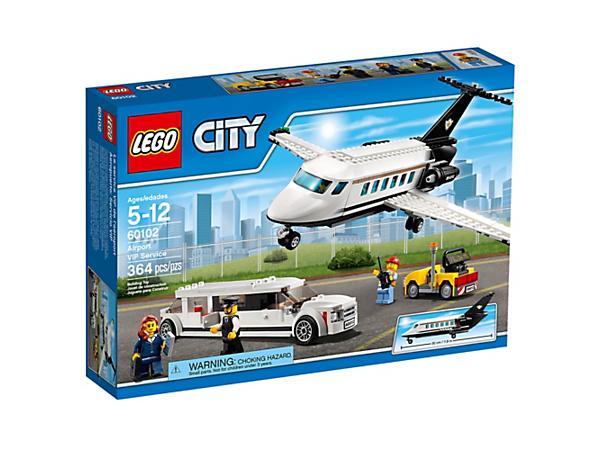 Airport Vip Service 60102 City Lego Shop