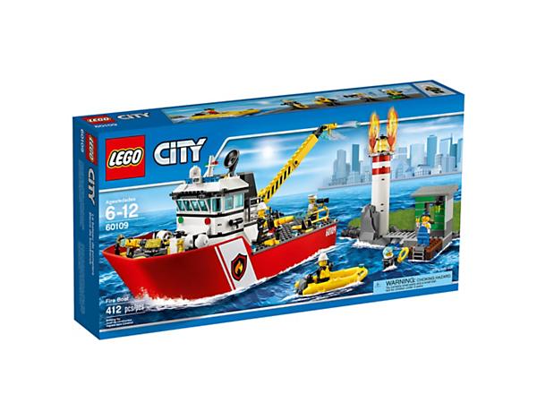 Fire Boat 60109 City Lego Shop