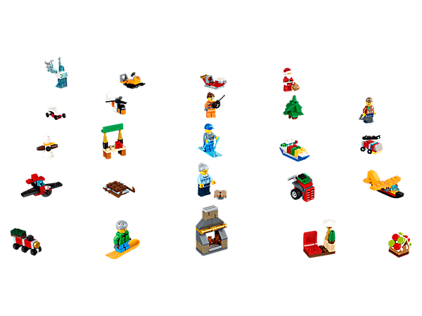 LEGO® City Advent Calendar - 60155 | City | LEGO Shop