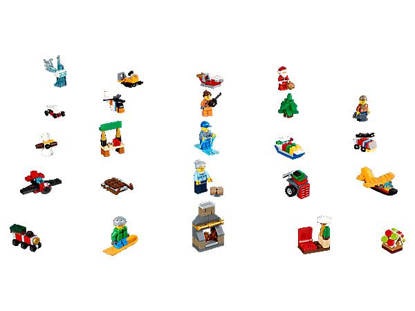 Lego City Advent Calendar 60155 City Lego Shop