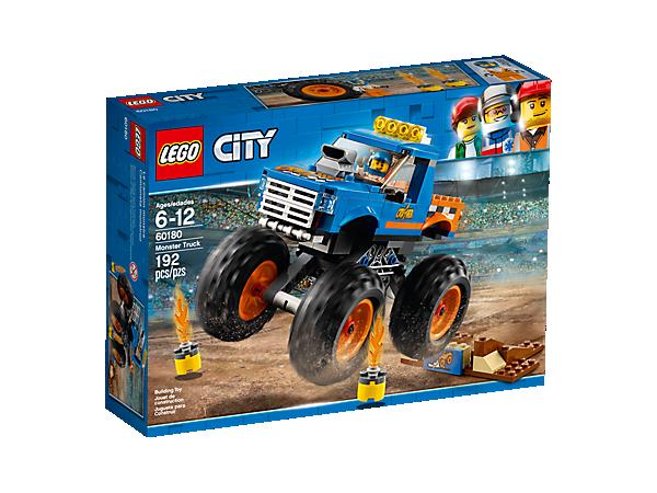 Monster Truck 60180 City Lego Shop