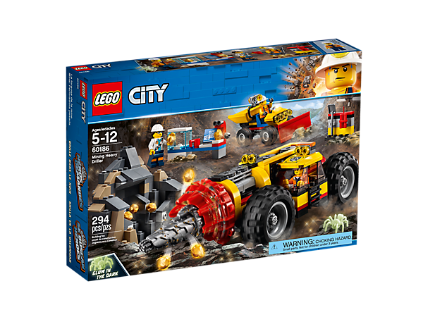 Mining Heavy Driller 60186 City Lego Shop