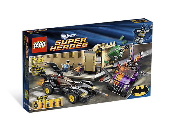 The Batmobile and the <i>Two-Face</i> Chase - 6864 | DC Comics ...