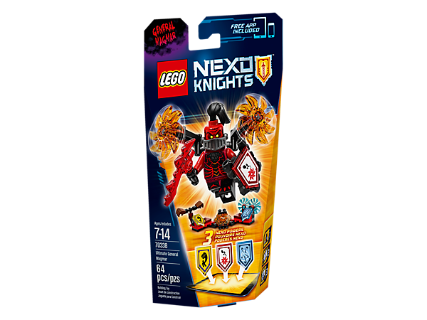 <p>Go out in a blaze of glory with Ultimate General Magmar's spinning flaming saw blades in this action-packed set, with 3 scannable shields and a minifigure.</p>