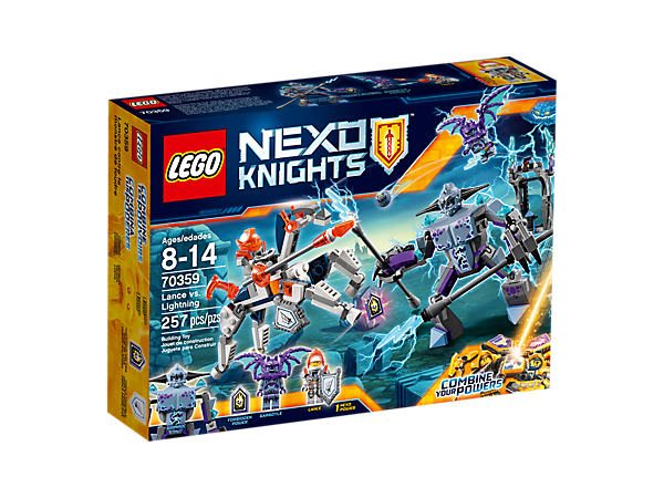 <p>Help Lance defeat the gargoyles, featuring a buildable robot horse and gothic village scene with a catapult. Includes two minifigures and a buildable gargoyle figure.</p>