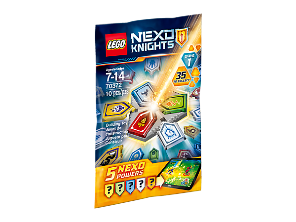 <p>Combine your powers, featuring five mystery scannable NEXO Powers and a Combo NEXO Power shield. The more NEXO Powers you collect and combine in the real world, the more powerful you become in the game!</p>
