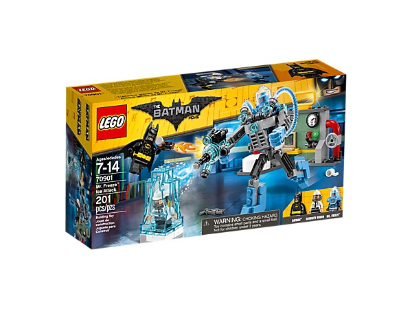 Mr. Freeze™ Ice Attack - 70901 | THE LEGO® BATMAN MOVIE | LEGO Shop