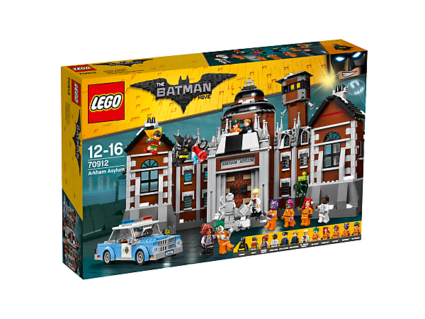 Arkham Asylum 70912 The Lego Batman Movie Lego Shop