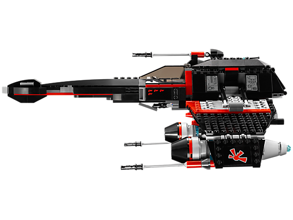 LEGO Star Wars Jek-14's Stealth Starfighter Review Unboxing 75018 ...