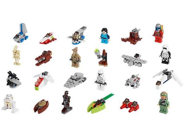 count down to christmas with the lego star wars