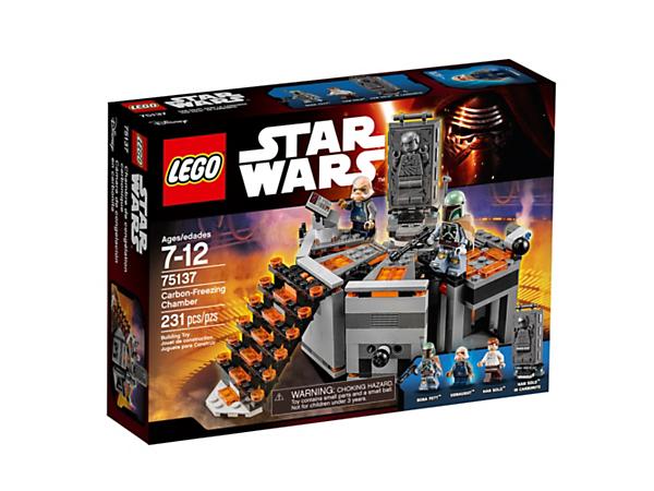CarbonFreezing Chamber Star Wars LEGO Shop - 25 2 lego star wars minifigures han solo han in carbonite blaster