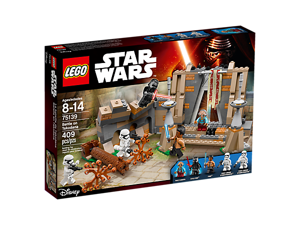 Explore product details and fan reviews for Battle on Takodana™ 75139 from Star Wars™. Buy today with The Official LEGO® Shop Guarantee.