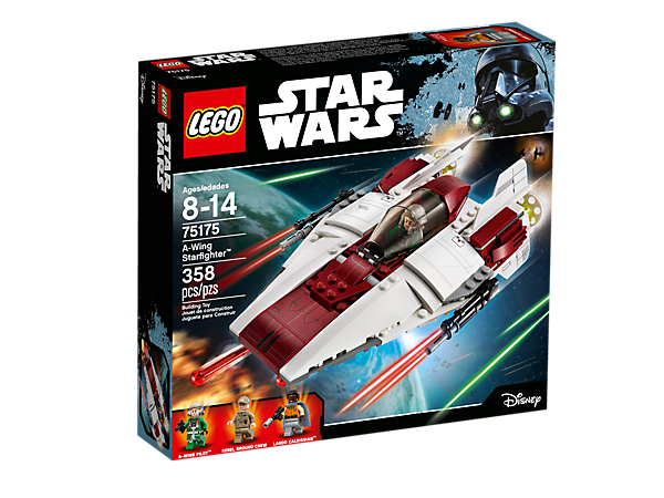 A Wing Starfighter 75175 Star Wars Lego Shop