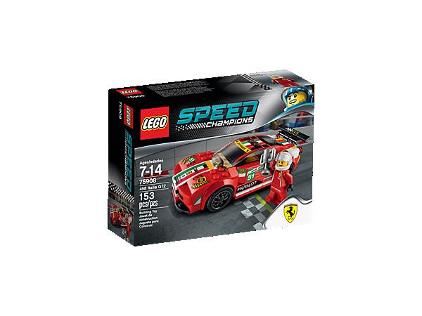 458 Italia Gt2 75908 Speed Champions Lego Shop
