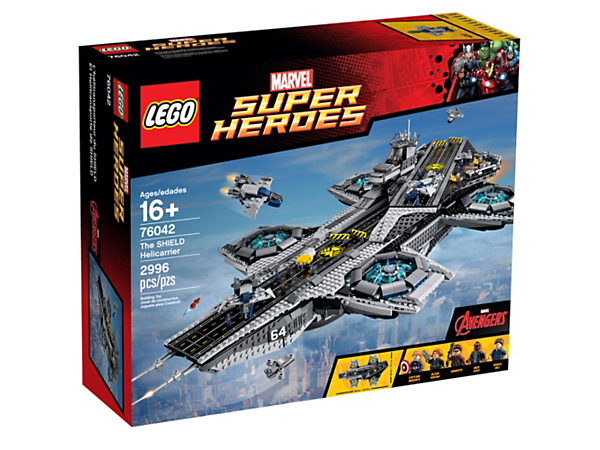 The SHIELD Helicarrier
