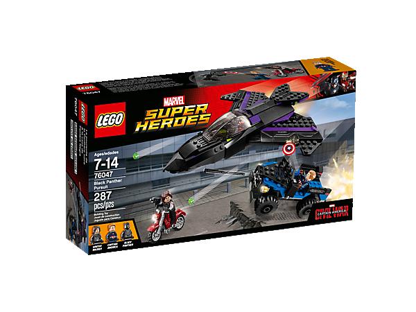 Black Panther Pursuit - 76047 | Marvel Super Heroes | LEGO Shop