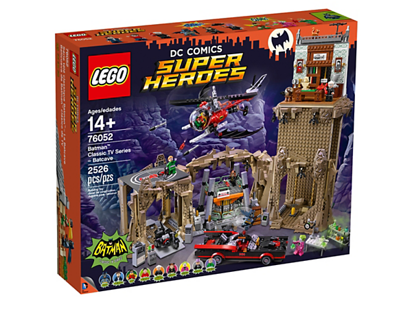 Batman™ Classic TV Series – Batcave - 76052 | DC Comics™ Super ...