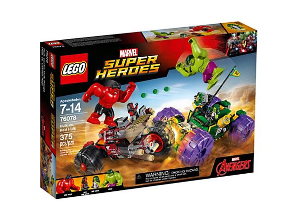 Hulk vs. Red Hulk - 76078 | Marvel Super Heroes | LEGO Shop