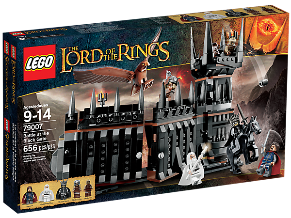 Battle At The Black Gate 79007 The Lord Of The Rings Lego Shop