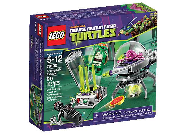 Kraang Lab Escape 79100 Teenage Mutant Ninja Turtles Lego Shop