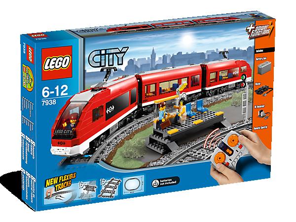 Passenger Train 7938 City Lego Shop