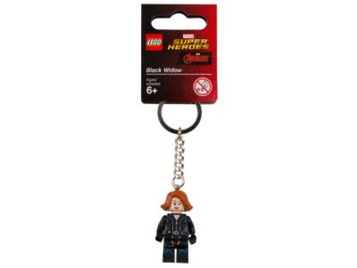 <p>Don't leave home without this LEGO® Marvel Super Heroes key chain featuring an authentic Black Widow minifigure attached to a sturdy metal ring and chain.</p>