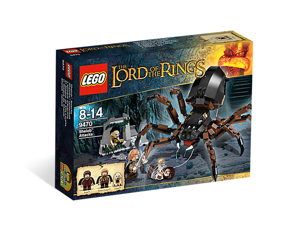 LEGO LORD OF THE RINGS 9470- SHELOB ATTACKS - SEALED BRAND NEW!! ( RETIRED )