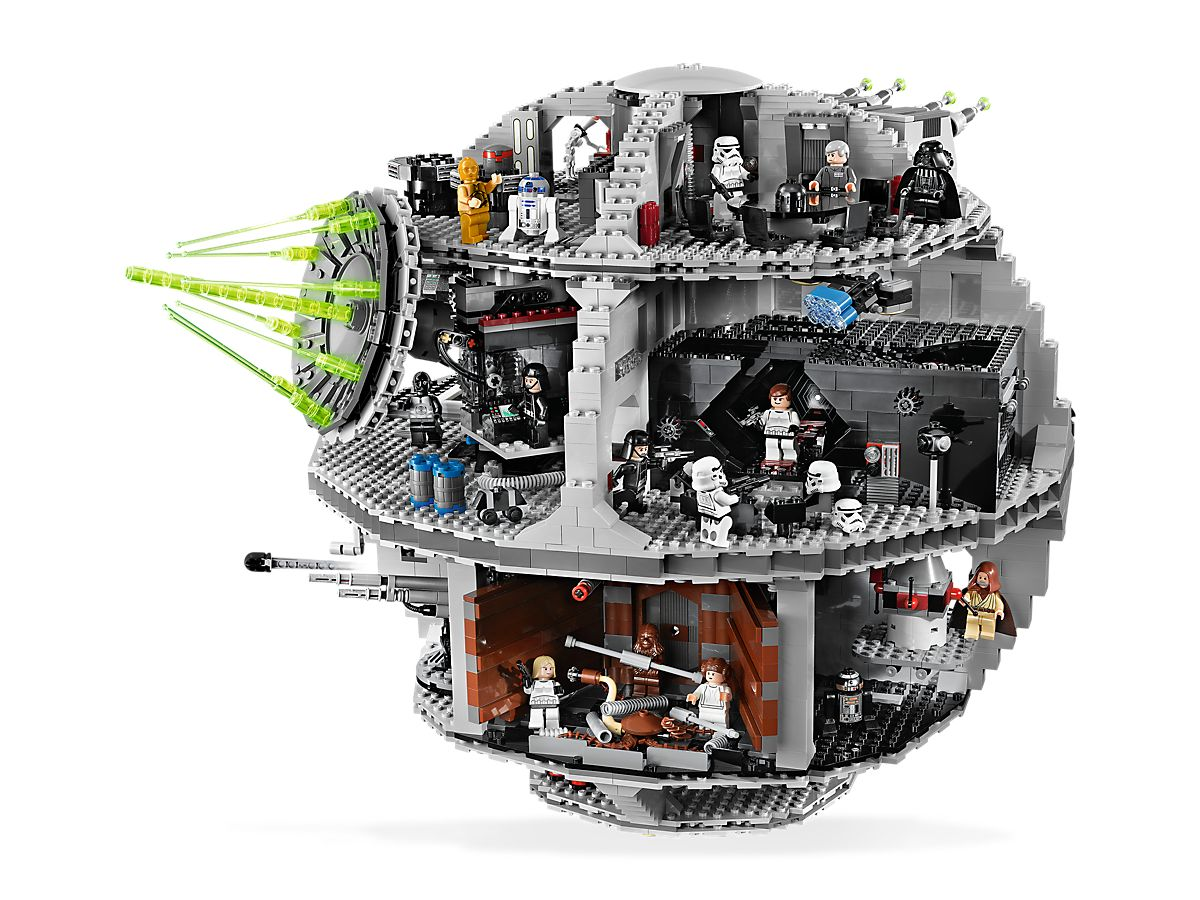 Death Star™ 10188 | Hard to Find Items | Buy online at the Official LEGO®  Shop DE