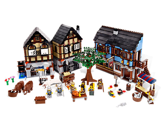 Medieval Market Village 10193 LEGO Shop