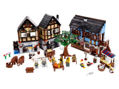 Medieval Market Village - 10193 | LEGO Shop