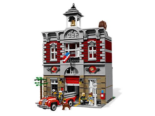 Fire Brigade 10197 Lego Shop