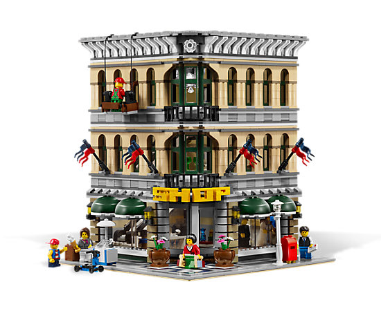 grand emporium 10211 lego shop. Black Bedroom Furniture Sets. Home Design Ideas