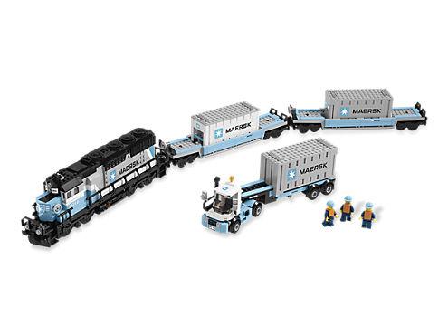 Maersk Train - 10219 | LEGO Shop
