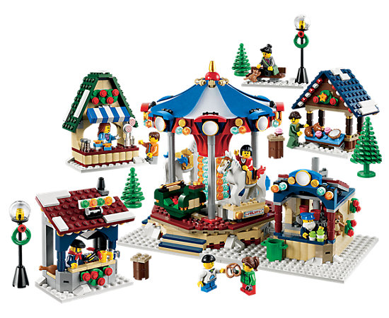 winter village market 10235 creator 3 in 1 lego shop