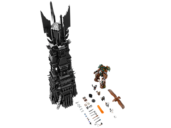 Build The Tower of Orthanc™ with 6 highly detailed floors, tons of functions, a Great Eagle, 5 minifigures and a powerful, buildable Ent!