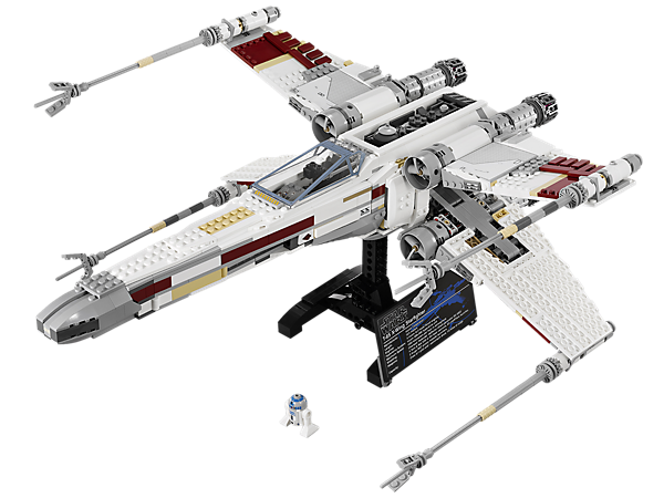 <p>Build the highly detailed LEGO® <i>Star Wars</i>™ X-wing Starfighter with folding wings, opening cockpit, display stand and R2-D2!</p>