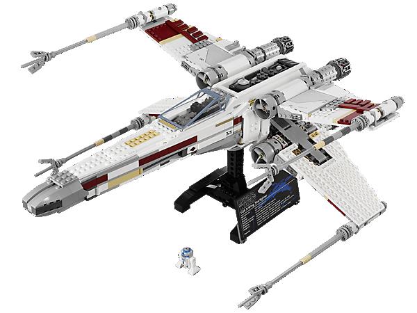 <p>Construis le X-wing Starfighter LEGO® <i>Star Wars</i>™ très détaillé avec des ailes qui se replient, un cockpit qui s'ouvre, un support d'exposition et R2-D2 !</p>