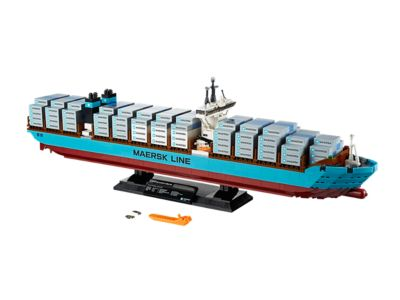 Explore product details and fan reviews for buildable toy Maersk Line Triple-E 10241 from Creator. Buy today with The Official LEGO® Shop Guarantee.