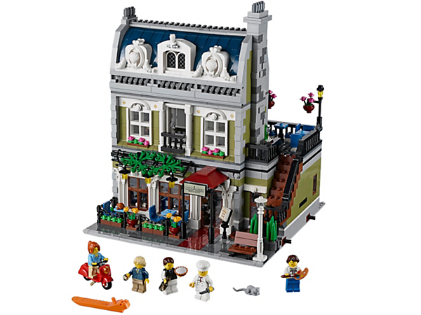 Explore product details and fan reviews for buildable toy Parisian Restaurant 10243 from Creator. Buy today with The Official LEGO® Shop Guarantee.