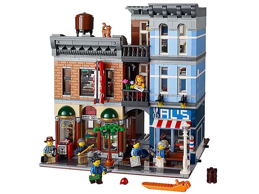 Lego Detective S Office