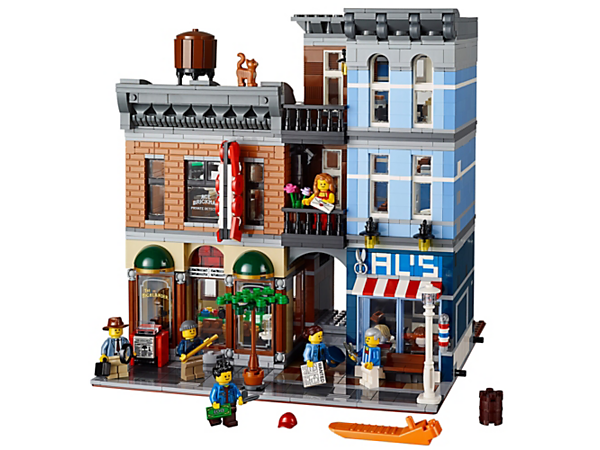 <p>Explore product details and fan reviews for Detective's Office 10246 from Creator. Buy today with The Official LEGO® Shop Guarantee. </p>