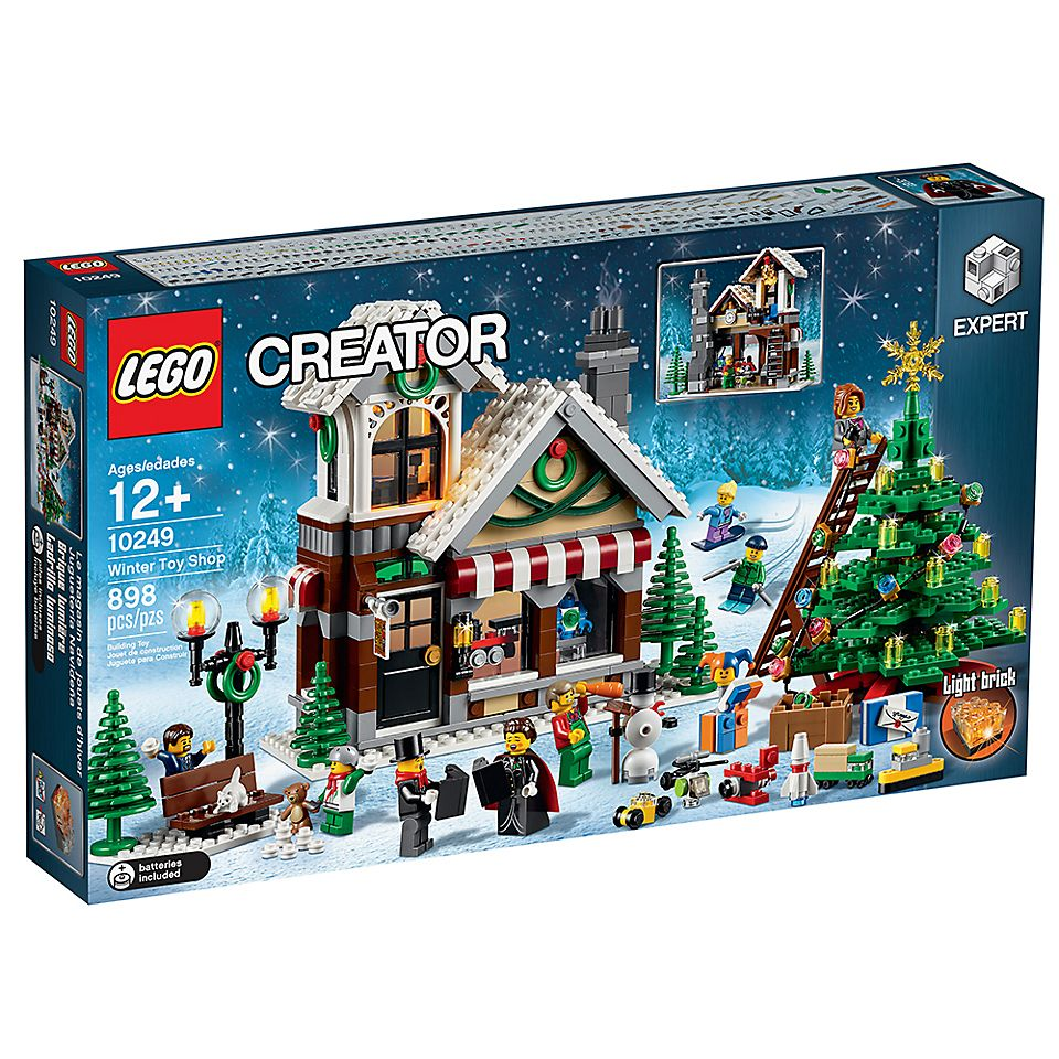 Christmas Set.Winter Toy Shop